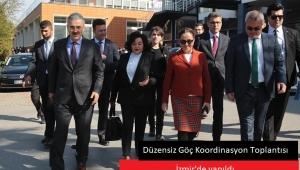 Düzensiz Göç Koordinasyon Toplantısı İzmir'de Yapıldı.