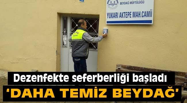 Berydağ'da dezenfekte seferberliği başlattı