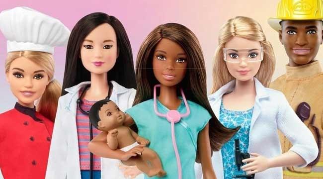 Sağlık çalışanları için proje: Kahraman Barbie'ler