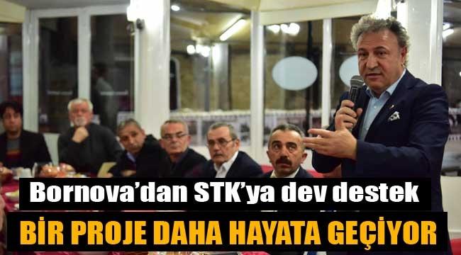 Bornova'dan STK'ya dev destek