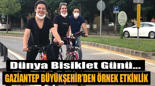Gaziantep Büyükşehir'den örnek uygulama