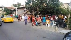 Sosyal mesafesiz sokak düğününe polis baskını