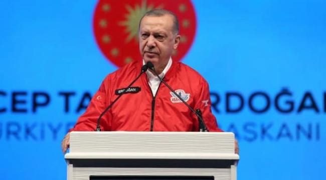 """Erdoğan, """"Geleceğin teknolojileri Türk malı damgasıyla üretilecek"""""""