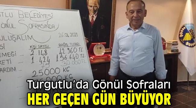 Turgutlu'da Gönül Sofraları Her Geçen Gün Büyüyor