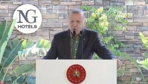 Cumhurbaşkanı Erdoğan'dan seyahat yasakları hakkında açıklama