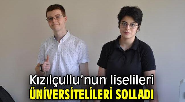 Kızılçullu'nun liselileri üniversitelileri solladı