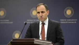 Dışişleri Bakanlığı'ndan Başkan Kruz'a sert tepki