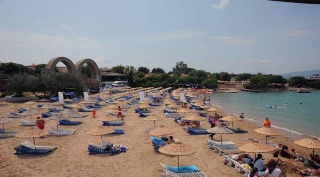 Seferihisar'da mavi bayraklı plaj sayısı 9 oldu!