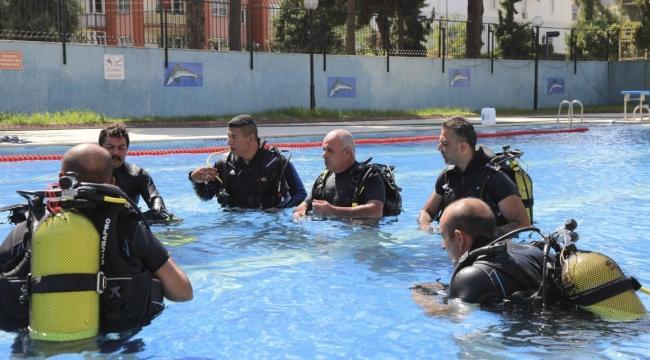 Aydın Büyükşehir İtfaiyesi Su Altı Arama Kurtarma Ekibi'ni büyütüyor!