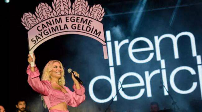 İrem Derici'den İzmir'e Zeki Müren selamı