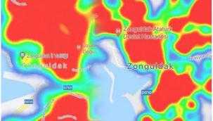 Zonguldak'da koronavirüs vakaları arttı, harita kırmızıya döndü